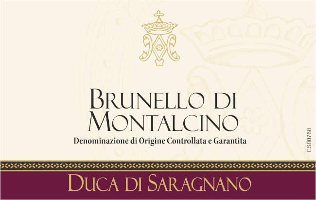 Brunello di montalcino Sangiovese rode wijn